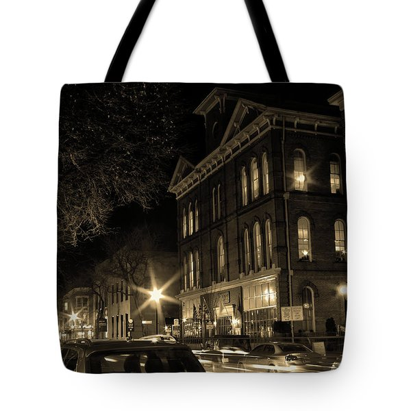 Tote Bag featuring the photograph Market Street by Robert Geary