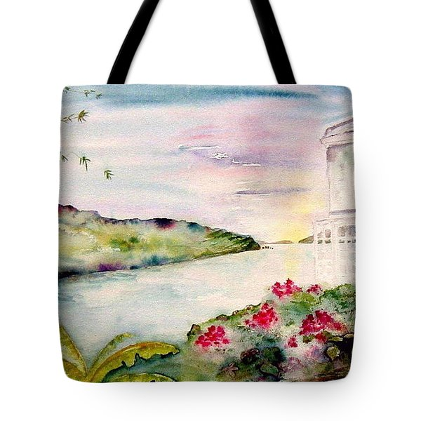 Brewers Bay Sunset Tote Bag