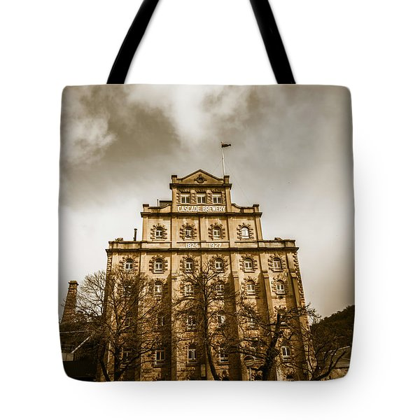 Brewery Building Tote Bag