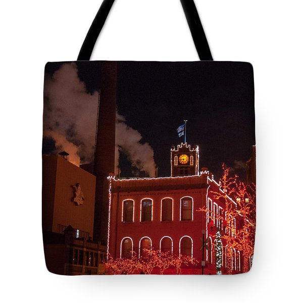 Brewery Lights Tote Bag
