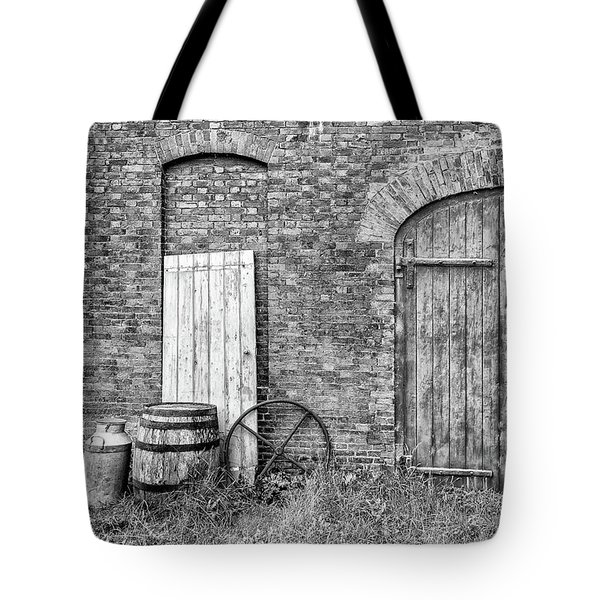 Brewhouse Door Tote Bag