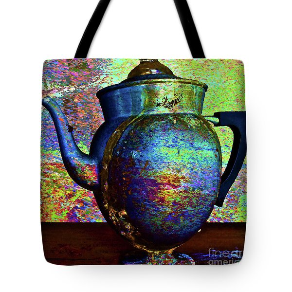 Brewing Nostalgia Tote Bag by Gwyn Newcombe