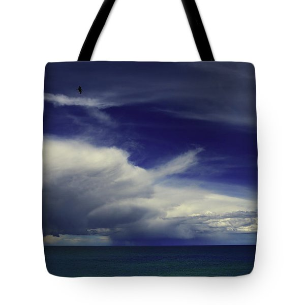 Tote Bag featuring the photograph Brewing Up A Storm by Nareeta Martin