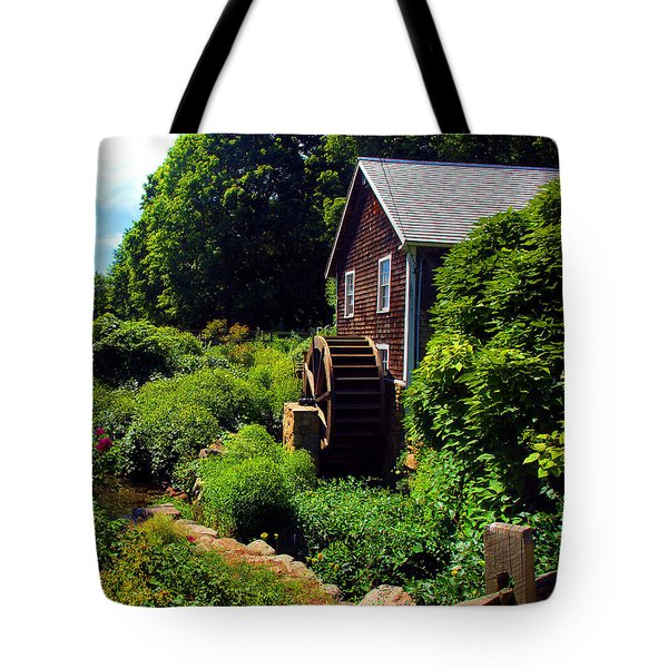 Brewster Gristmill Tote Bag