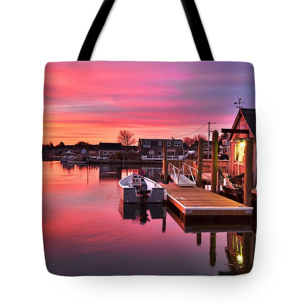 Brewsters In The South End Tote Bag