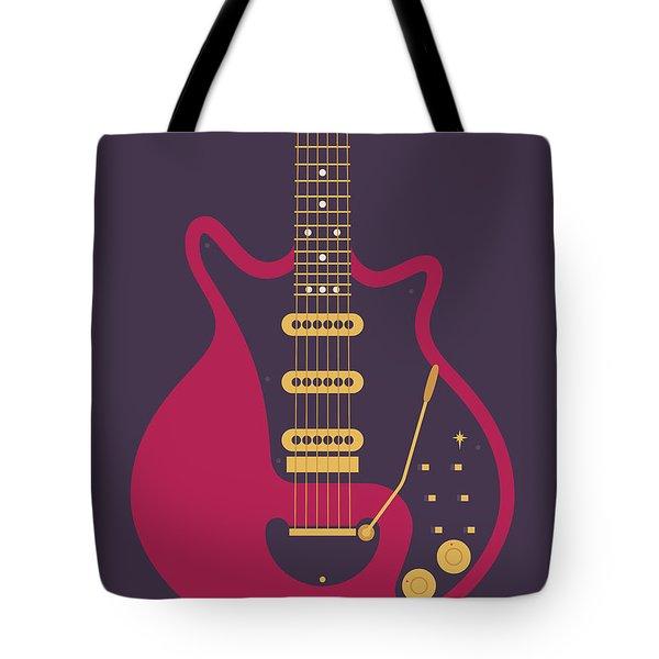 Red Special Guitar - Black Tote Bag