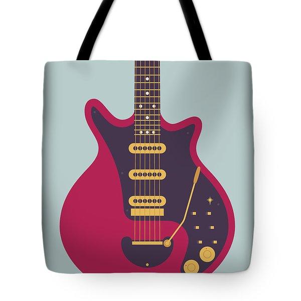 Red Special Guitar - Grey Tote Bag