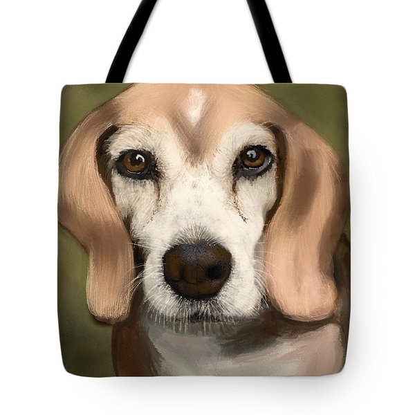 96af06a0d6d1 Tote Bag featuring the painting Brian's Bennie by Craig Nelson