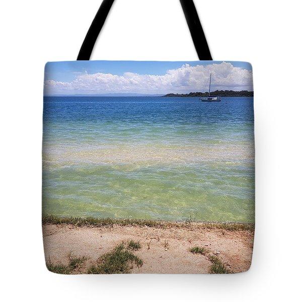 Bribie Ocean  Tote Bag