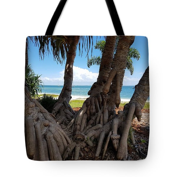 Bribie Trees  Tote Bag