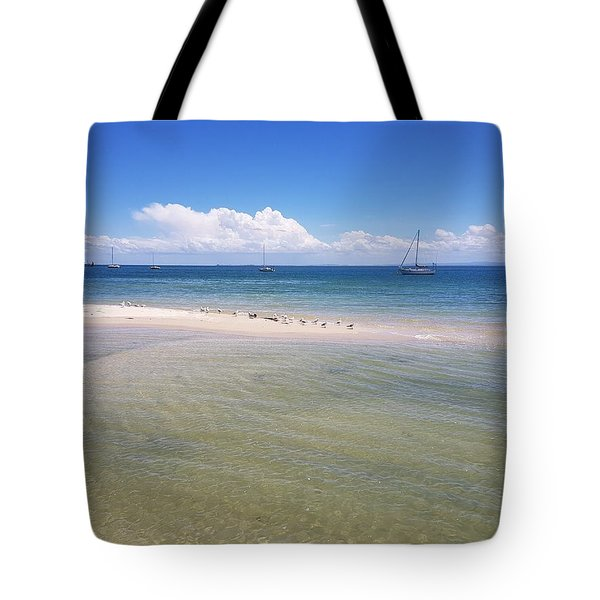 Bribie Waters Tote Bag