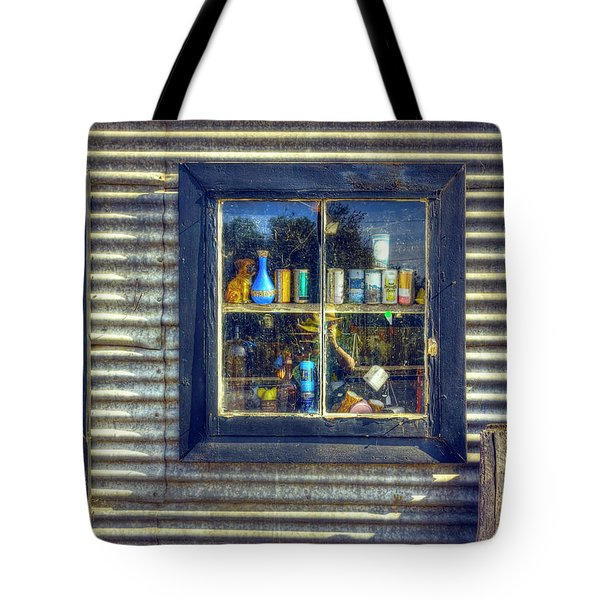 Tote Bag featuring the photograph Bric-a-brac by Wayne Sherriff