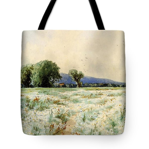 Bricher Alfred Thompson The Daisy Field Tote Bag