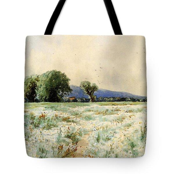 Bricher Alfred Thompson The Daisy Field Tote Bag