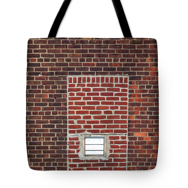 Brick And Barbed Wire Tote Bag