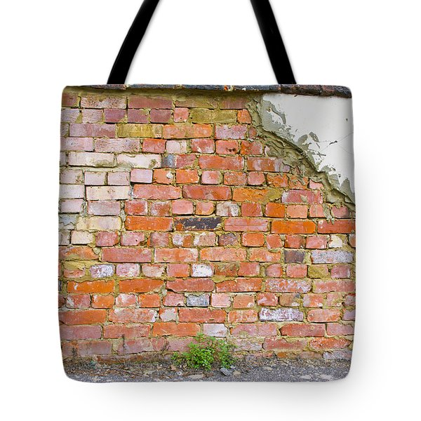 Tote Bag featuring the photograph Brick And Mortar by Wanda Krack