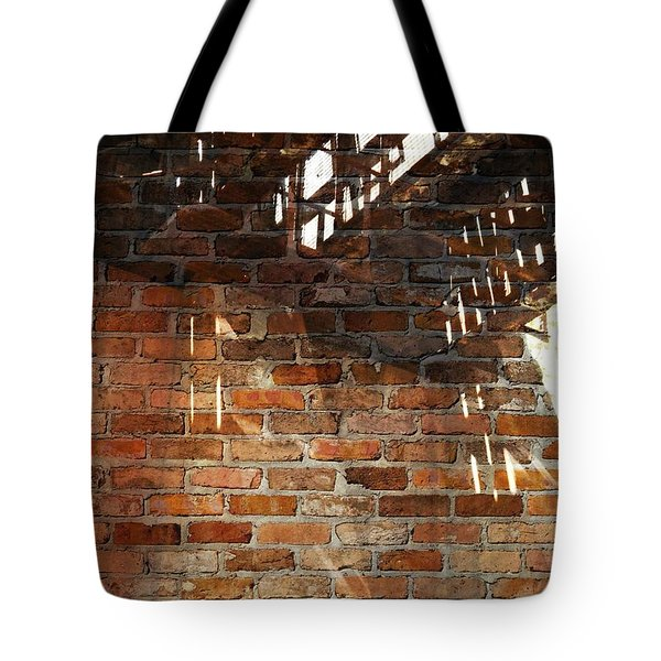 Brick And Rust Tote Bag