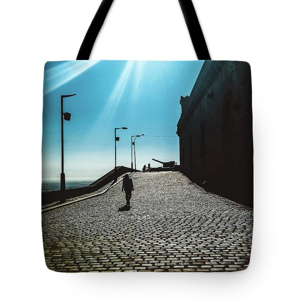 Tote Bag featuring the photograph Brick By Brick by Colleen Kammerer