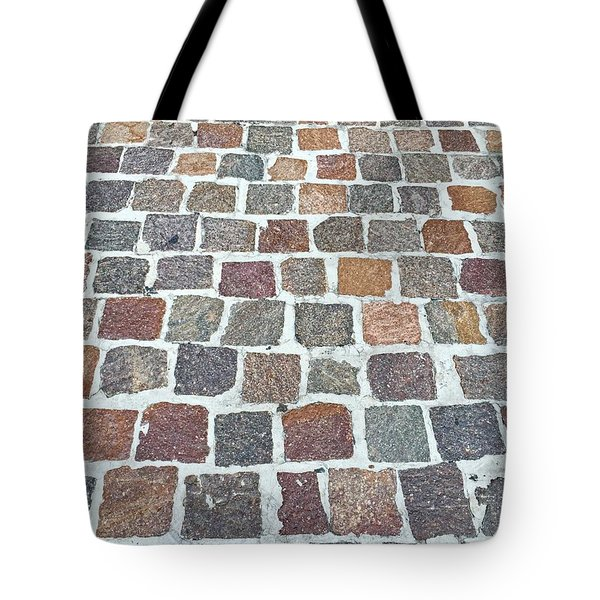 Brick By Brick Tote Bag by Russell Keating