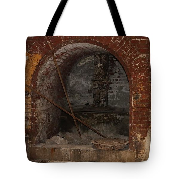 Brick Charm  Tote Bag by Christy Pooschke
