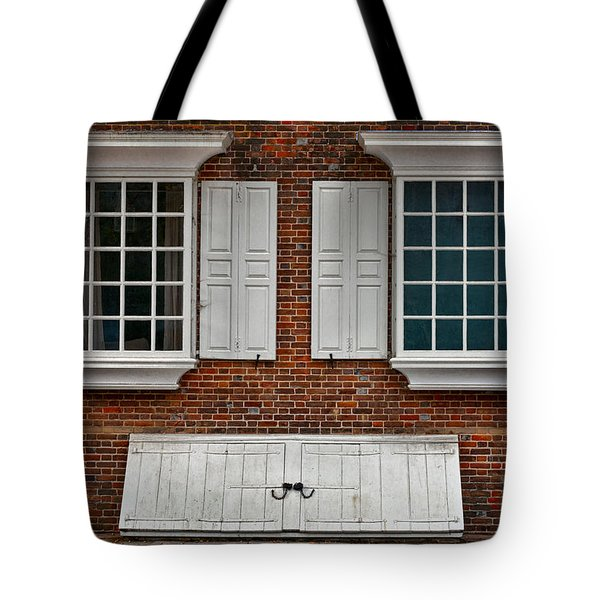 Brick Face Tote Bag by Christopher Holmes