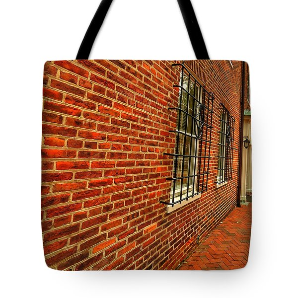 Brick Houses Tote Bag