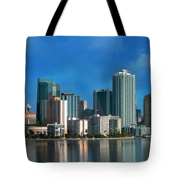 Brickell Skyline 2 Tote Bag