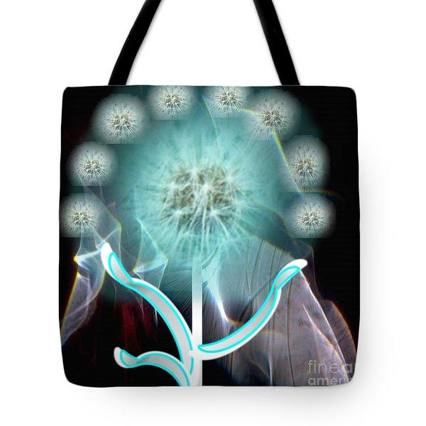 Bridal Flower Tote Bag