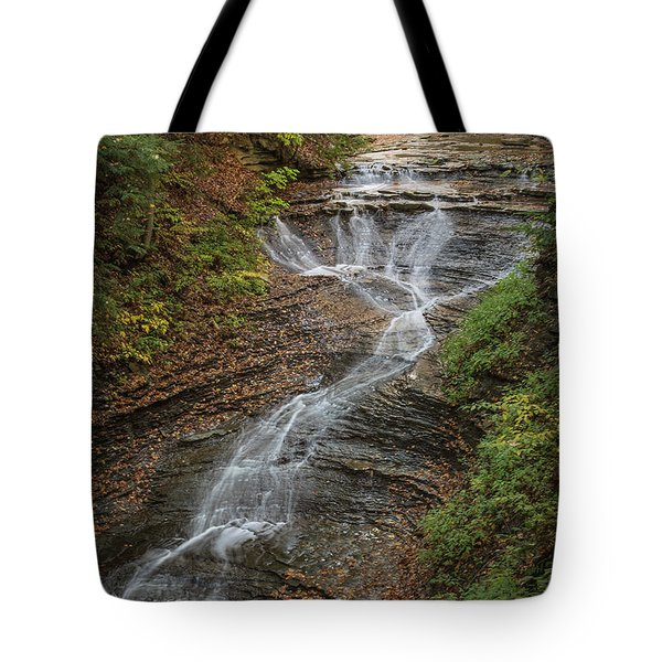 Tote Bag featuring the photograph Bridal Veil Falls by Dale Kincaid