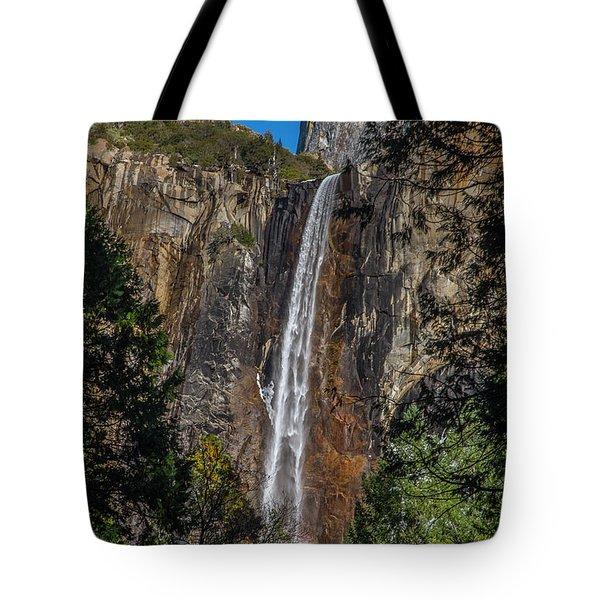 Bridal Veil Falls - My Original View Tote Bag