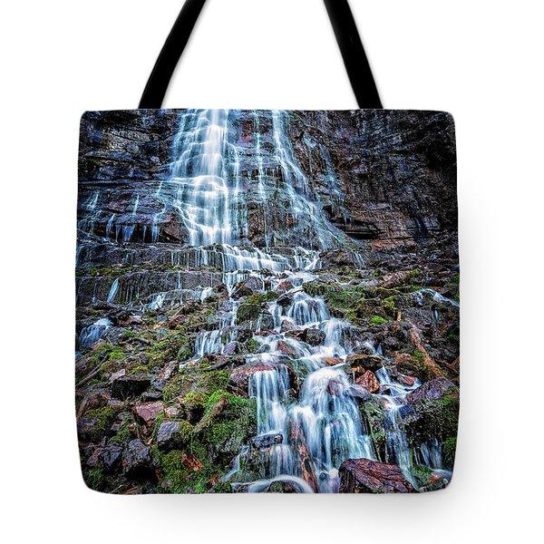 Bridal Veil Falls Utah Tote Bag