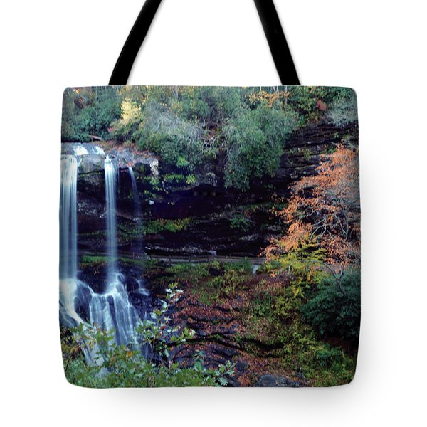 Bridal Veil Waterfalls Tote Bag