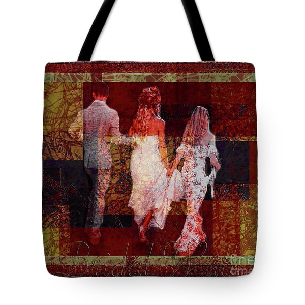 Bridal Walk Tote Bag