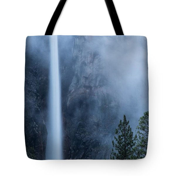 Tote Bag featuring the photograph Bridalveil Falls by Vincent Bonafede