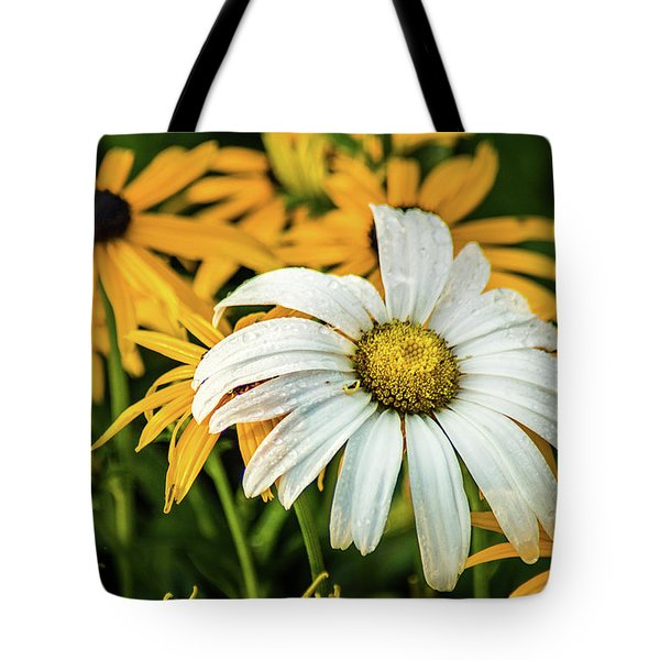 Tote Bag featuring the photograph Bride And Bridesmaids by Bill Pevlor
