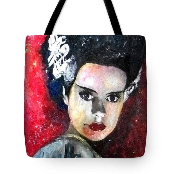 Bride Of Frankenstein Tote Bag