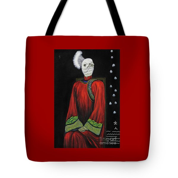 Bride On The Right Tote Bag