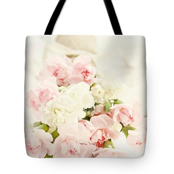 Brides Bouquet Tote Bag