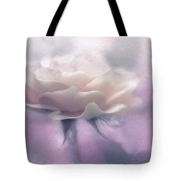 Bridesmaid Rose Tote Bag by Jean OKeeffe Macro Abundance Art
