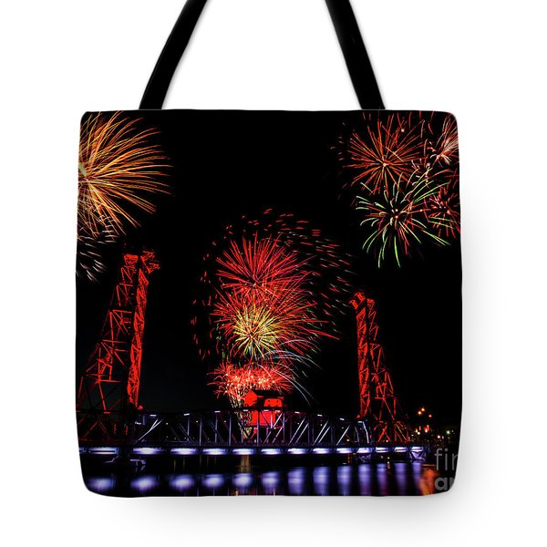 Bridge 13 Canada Day Tote Bag
