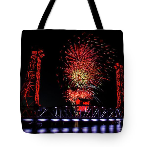 Bridge 13 In Welland Tote Bag