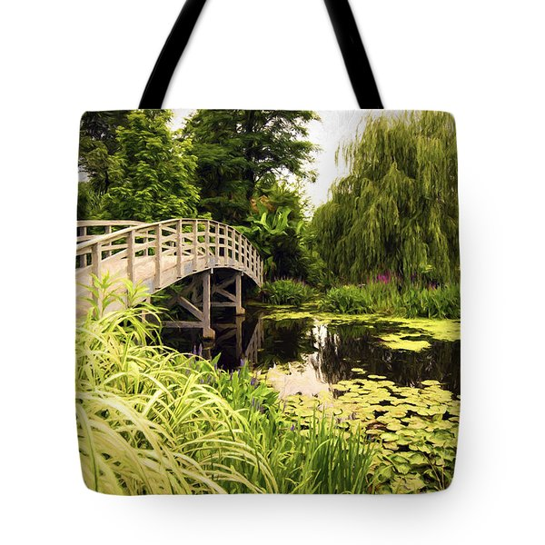Tote Bag featuring the photograph Bridge At Petersburg by Anthony Baatz