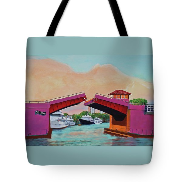 Bridge At Se 3rd Tote Bag