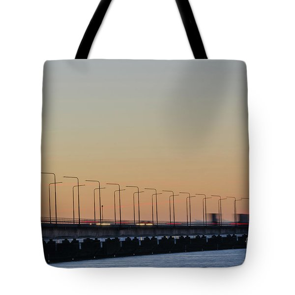 Tote Bag featuring the photograph Bridge Detail by Kennerth and Birgitta Kullman