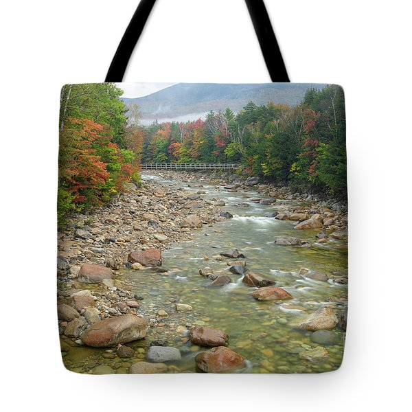 East Branch Of The Pemigewasset River, New Hampshire Tote Bag