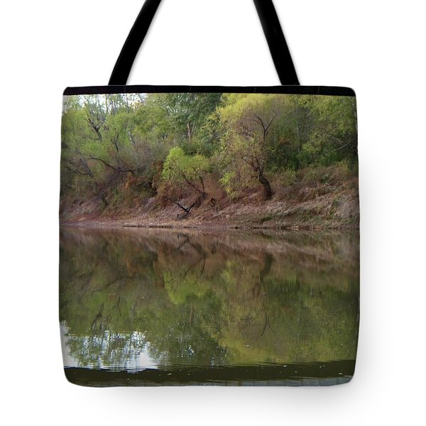 Tote Bag featuring the photograph Bridge Frame by Betty Northcutt