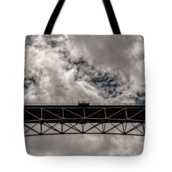 Bridge From Below Tote Bag
