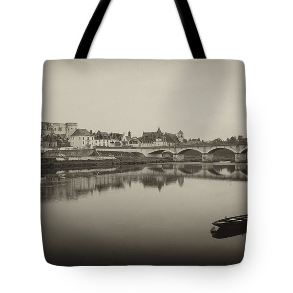 Bridge From Ile D'ors Tote Bag