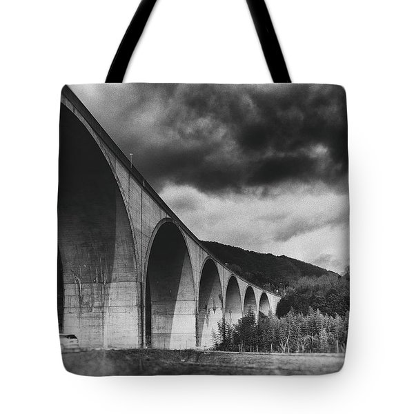 Tote Bag featuring the photograph Bridge by Hayato Matsumoto