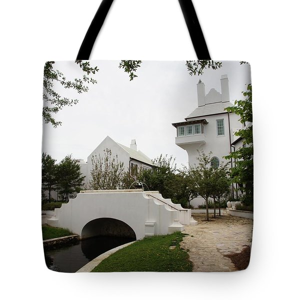Bridge In Alys Beach Tote Bag